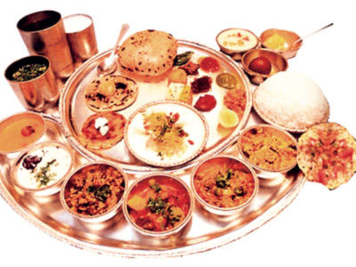 Traditional Indian Dishes, food