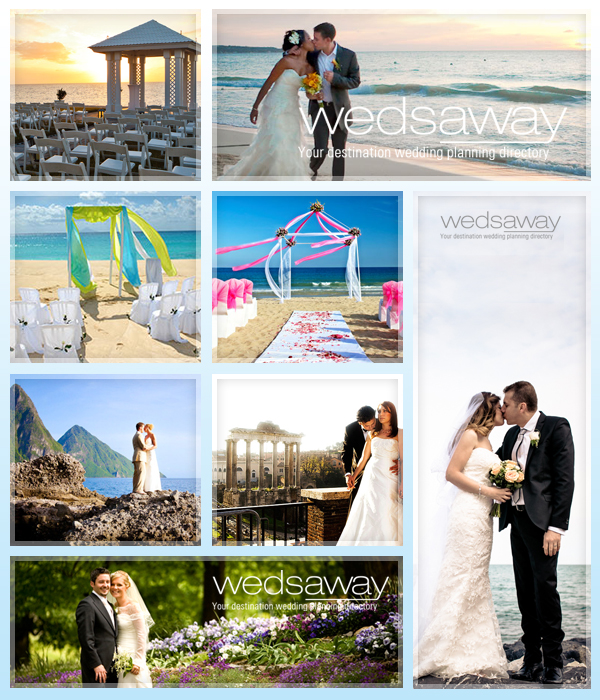 Top lovely overseas wedding destinations