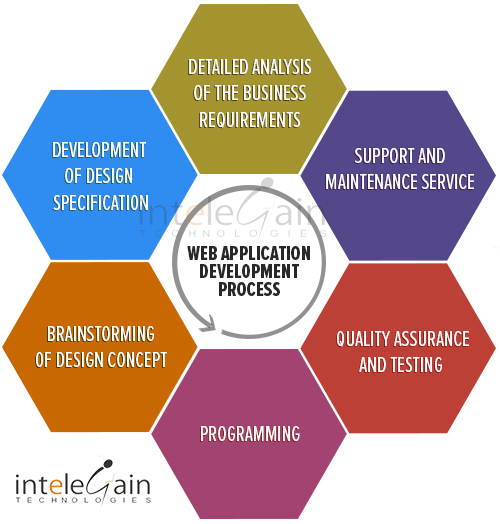 custom web application development process