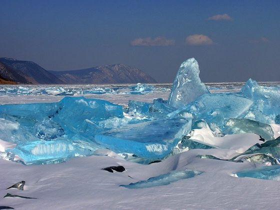 Turquoise Ice, Lake Baikal, Russia
