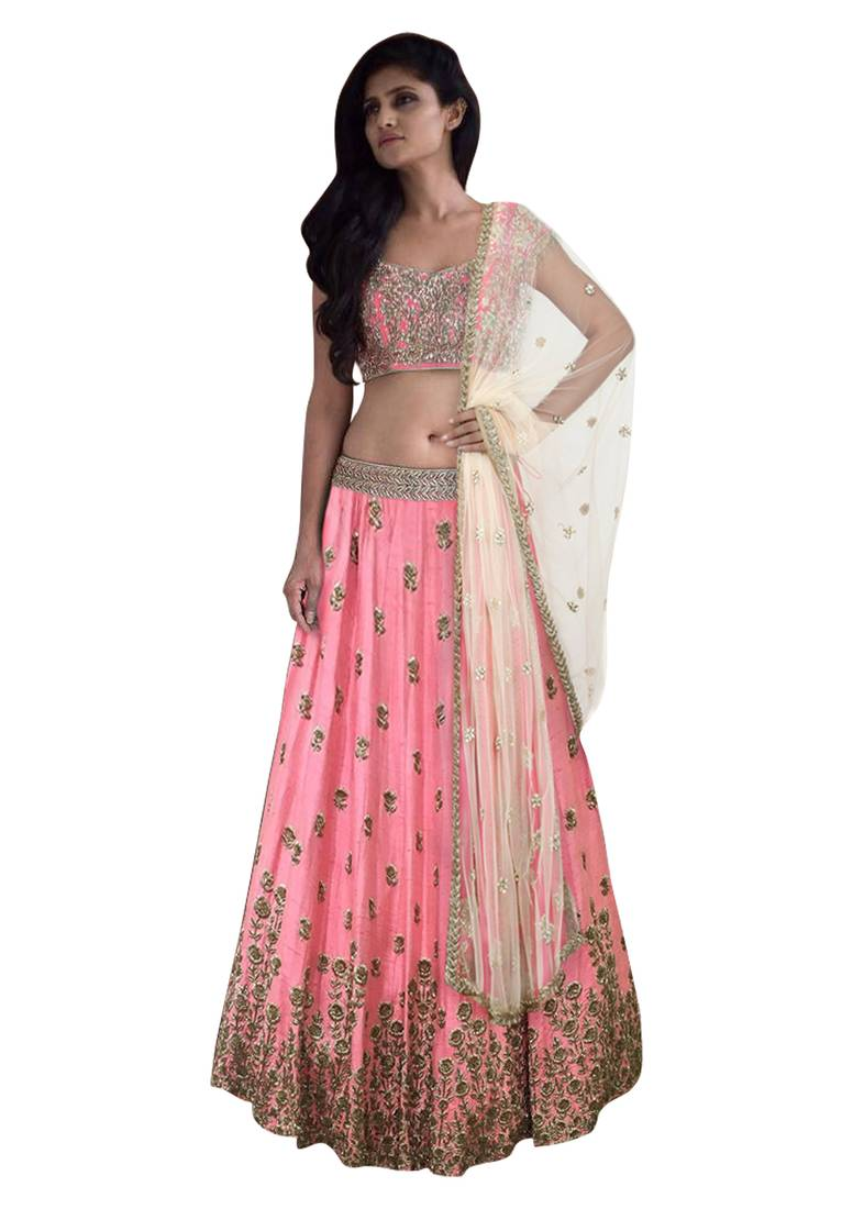 Lehengas that can make your look hot if intending to going to closest companion's wedding!