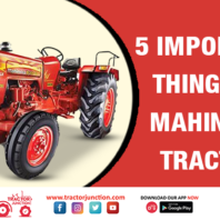 5 Important Things of Mahindra Tractor