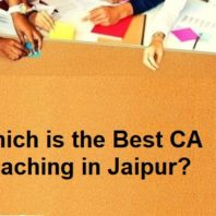 Which is the Best CA Coaching in Jaipur?