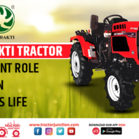 Vst Shakti Tractor - Important Role in Indian Farmer's Life