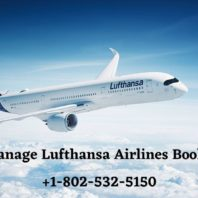 Manage Lufthansa Airlines Booking