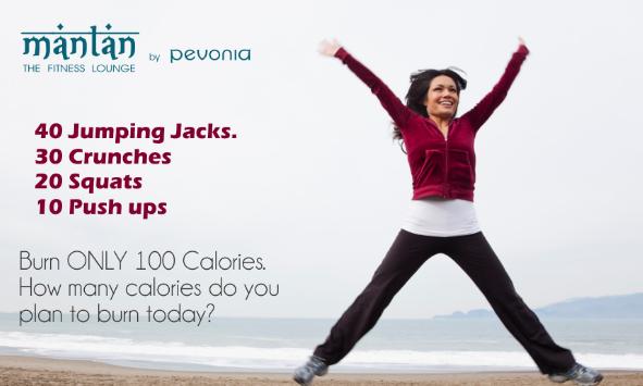 push ups burn calories