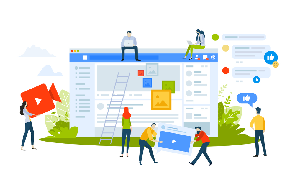 Manage Social Media Page