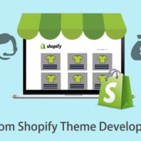 custom Shopify theme development