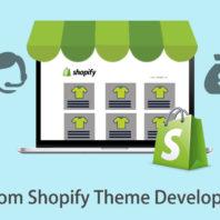 custom Shopify theme development