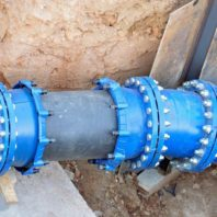 drain pipelining