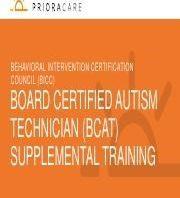 Board certified Autism Technicians