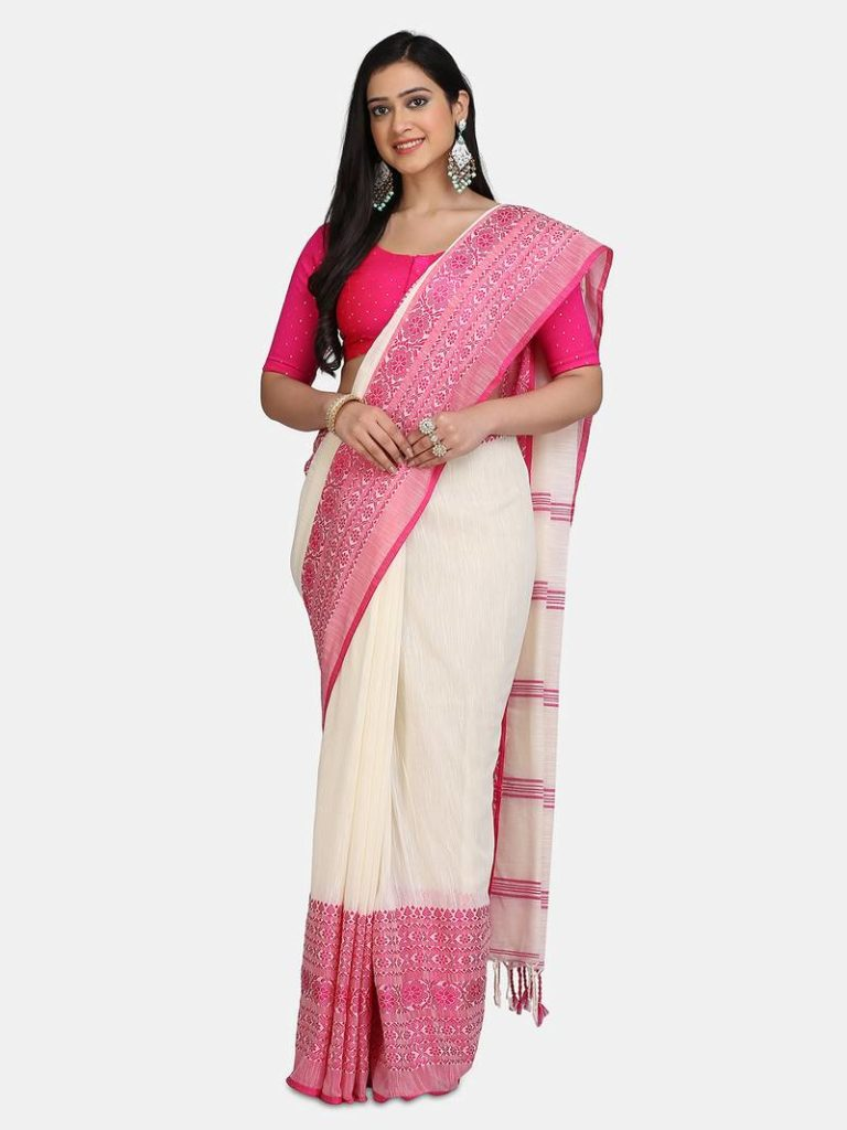 Pure Cotton Saree Online Collection