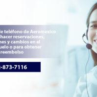 Call Aeroemexico from Mexico