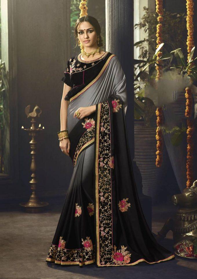 Black Saree Collection
