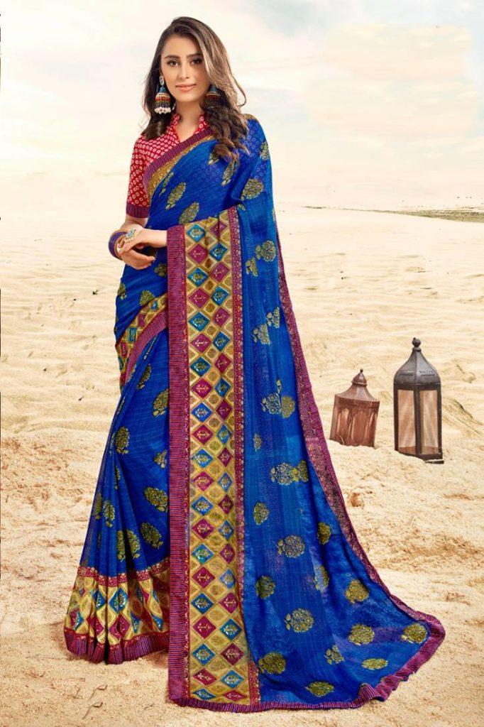 Blue Sarees Online