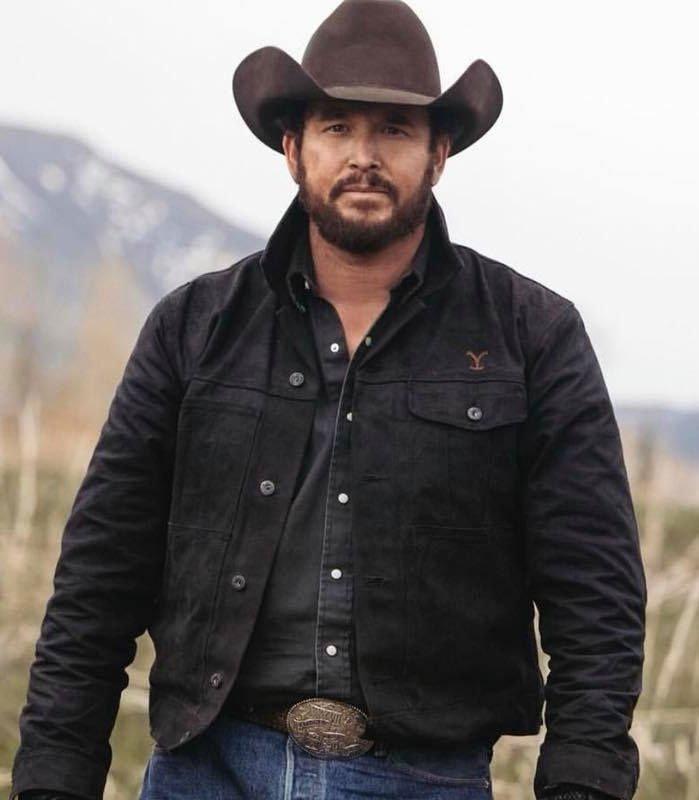 Cole Hauser Yellowstone Rip Wheeler Jacket