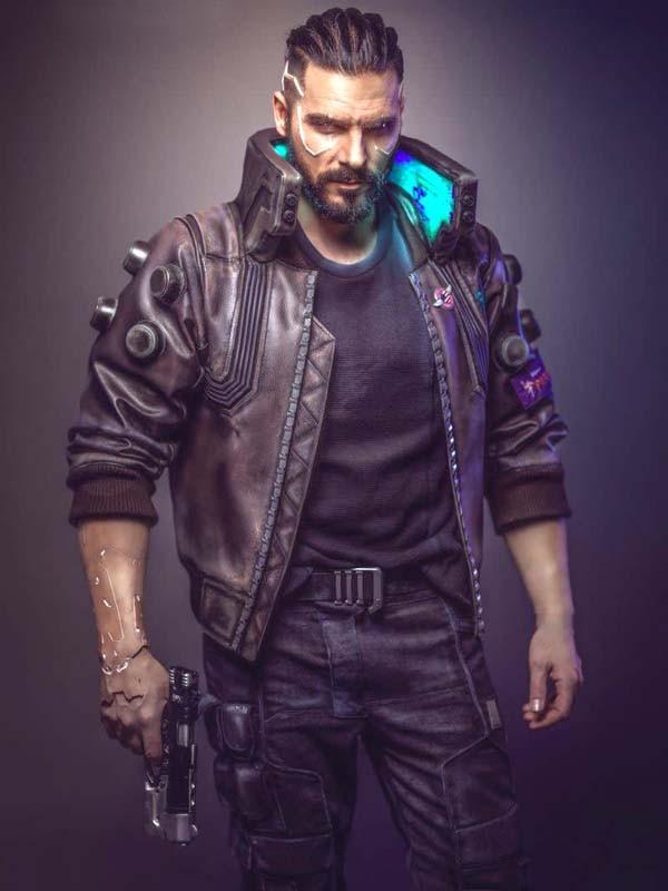 Cyberpunk 2077 Samurai Video Game Jacket