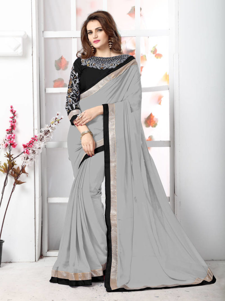 Pure Chiffon Sarees Online Collection