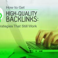 High-quality backlinks