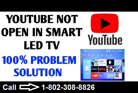 Youtube not working on tv