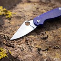 Blue Pocket Knives