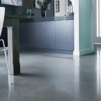 Polished concrete floor London
