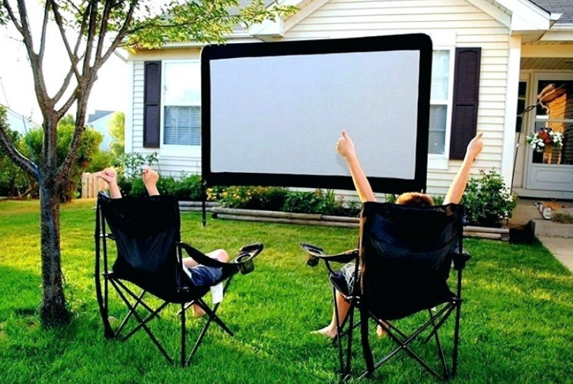 how to make your own projector screen for Daylight Viewing Projector