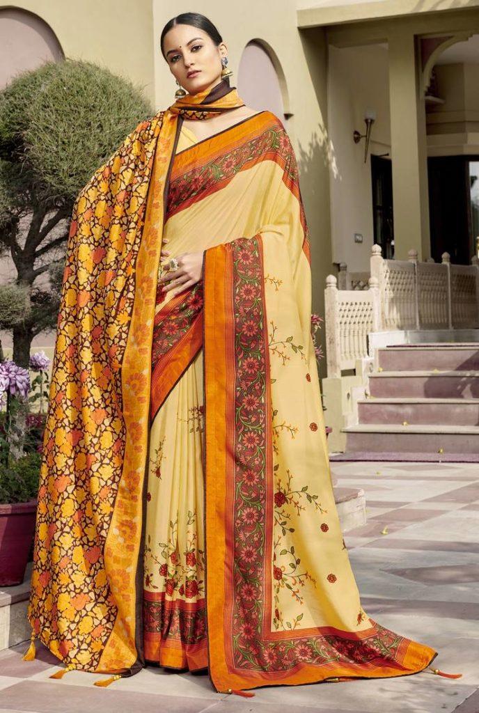 Chanderi Silk Sarees Online