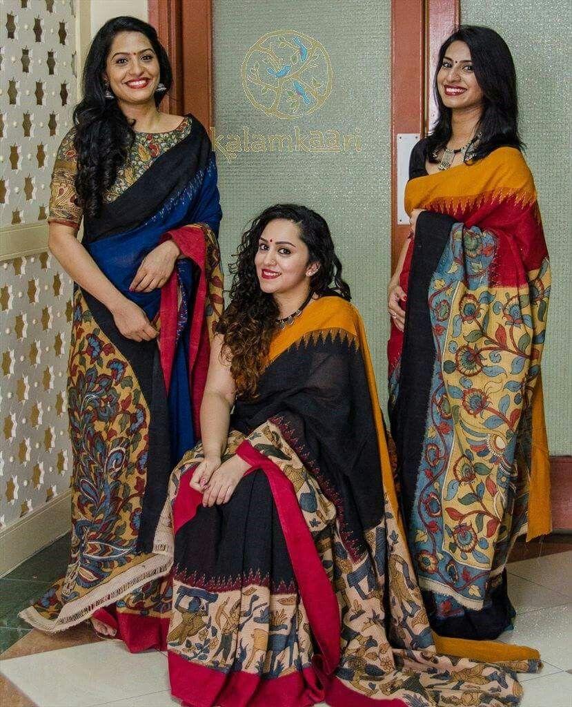 Kalamkari saree online shopping